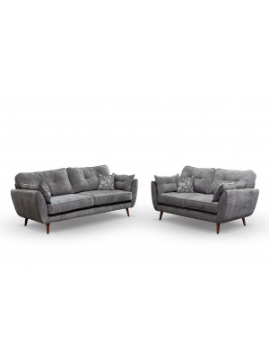 Zinc 3 Seater & 2 Seater Sofa Set Sofas And Chairs