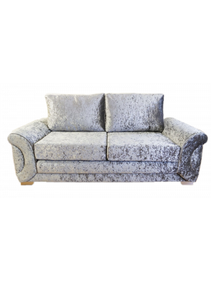 Colorado Glitz 3 Seater Formal Back Sofa Sofas And Chairs