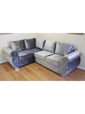 Helix Glitz Left Hand Formal Back Corner Sofa Sofas And Chairs