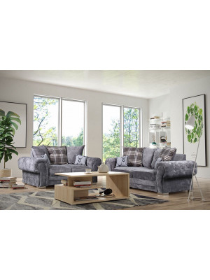 Verona 3 Seater & 2 Seater Pillow Back Sofa Set Sofas And Chairs